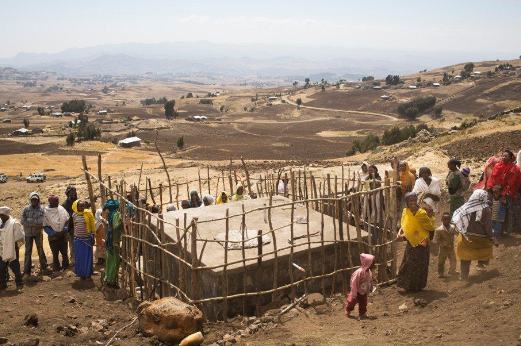 Etiopia. Pozzi d'acqua