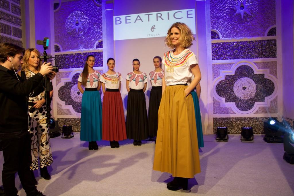 Filippa Lagerback indossa la tshirt di BeatriceB