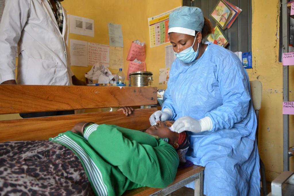 operazione di trichiasi a Mirama