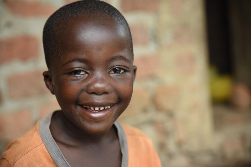 primo piano di Makoma sorridente